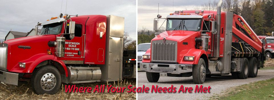 Where All Your Scale Needs Are Met | Company Trucks 1