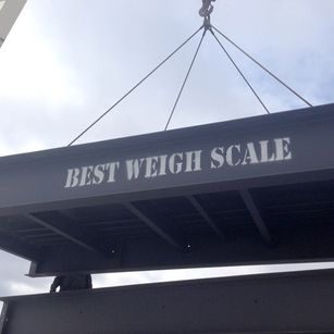 Best Weigh Scale construction project