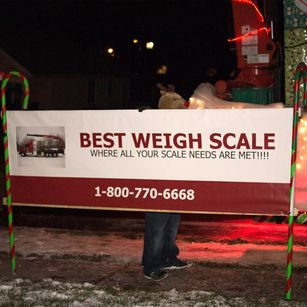 Best Weigh Scale sign